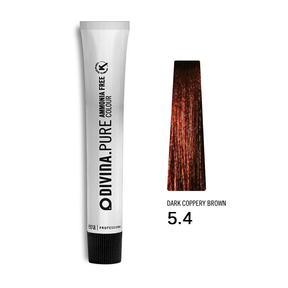 Divina.Pure Copper no 5.4 Dark coppery brown