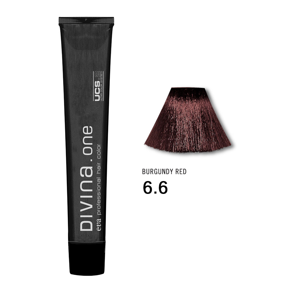 Divina.One Red no6.6 Burgundy Red