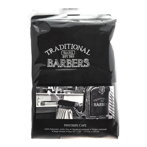 Traditional Barbers Pinstripe Cape