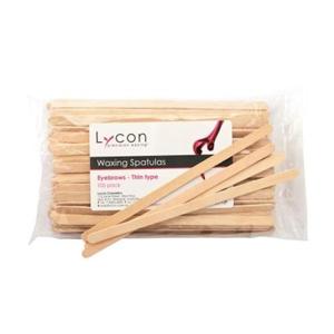 Lycon Spatula-Eyebrows-Thin 100pcs
