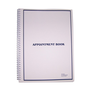 Appointment Books - 4 column
