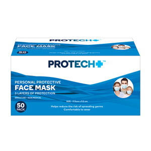 Protech Face Mask 50 pack