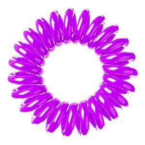 Spiradelic Hair Rings - Purple